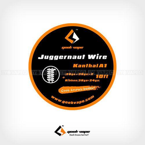 Geekvape-Bobina-KA1-Juggernaut-(28GA+38GA)x2+Ribbon(38GAx24GA)-Yonofumo-Yovapeo