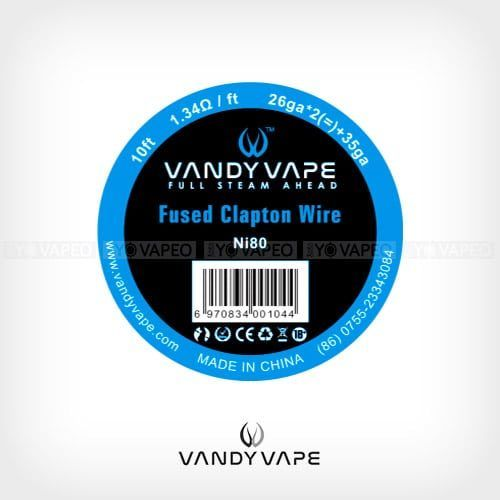 Vandyvape-Bobina-Fused-Clapton-Ni80-26AWGx2+35AWG-Yonofumo-Yovapeo