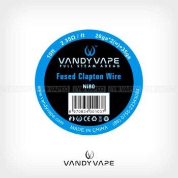 Vandyvape-Bobina-Fused-Clapton-Ni80-28AWGx2+35AWG-Yonofumo-Yovapeo