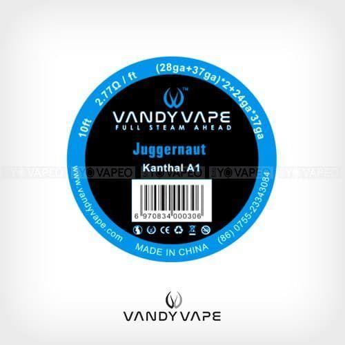 Vandyvape-Bobina-Kanthal-Juggernaut-(28AWG+37AWG)-x2+24AWGx37AWG-Yonofumo-Yovapeo