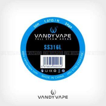 Vandyvape-Bobina-SS316L-24AWG-Yonofumo-Yovapeo