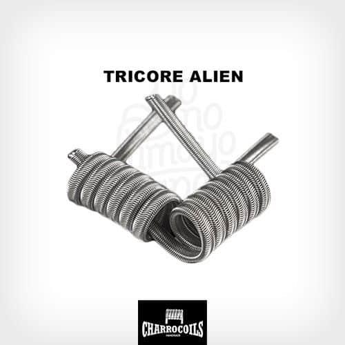 Resistencia-Tricore-Alien-Electrónico-Charro-Coils-Yonofumo-Yovapeo