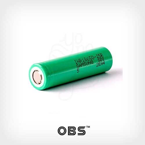 KFB+Samsung-R25+Efest-Cargador-K2-Kit-OBS---Yonofumo-Yovapeo