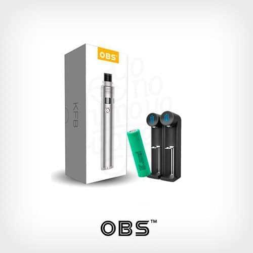 KFB+Samsung-R25+Efest-Cargador-K2-Kit-OBS-Yonofumo-Yovapeo