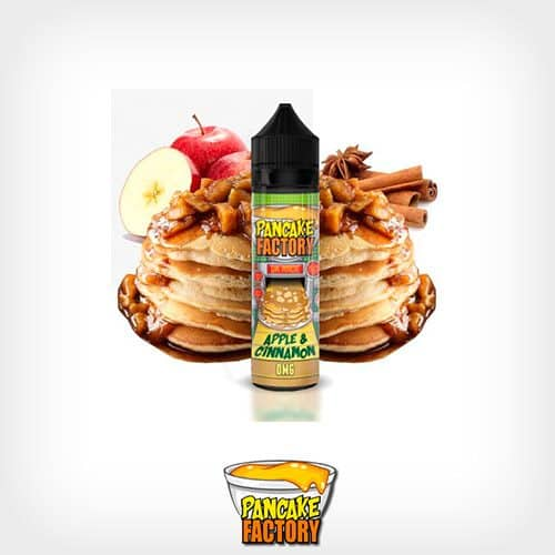 Apple-&-Cinnamon-Booster-50ml-Pancake-Factory-Yonofumo-Yovapeo