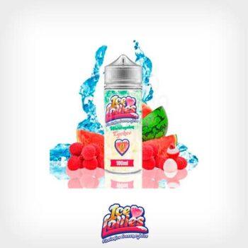 Watermelon-Lychee-Booster-100ml-Ice-Love-Lollies-Yonofumo-Yovapeo