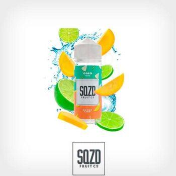 Mango-Lime-Booster-100ml-SQZD-Fruit-Co-Yonofumo-Yovapeo