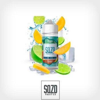 Mango-Lime-On-Ice-Booster-100ml-SQZD-Fruit-Co-Yonofumo-Yovapeo