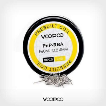 Voopoo-Resistencia-Prefabricadas-PnP-RBA-(10-Uds)-yonofumoyovapeo