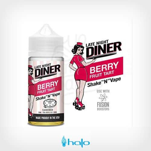 berry-fruit-tart-booster-50ml-late-night-diner-by-halo--yonofumoyovapeo