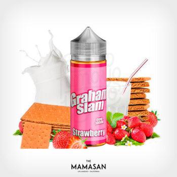 graham-slam-strawberry-100ml-the-mamasan-yonofumoyovapeo