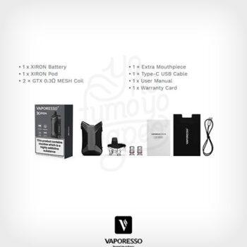 pod-xiron-vaporesso-01-yonofumoyovapeo