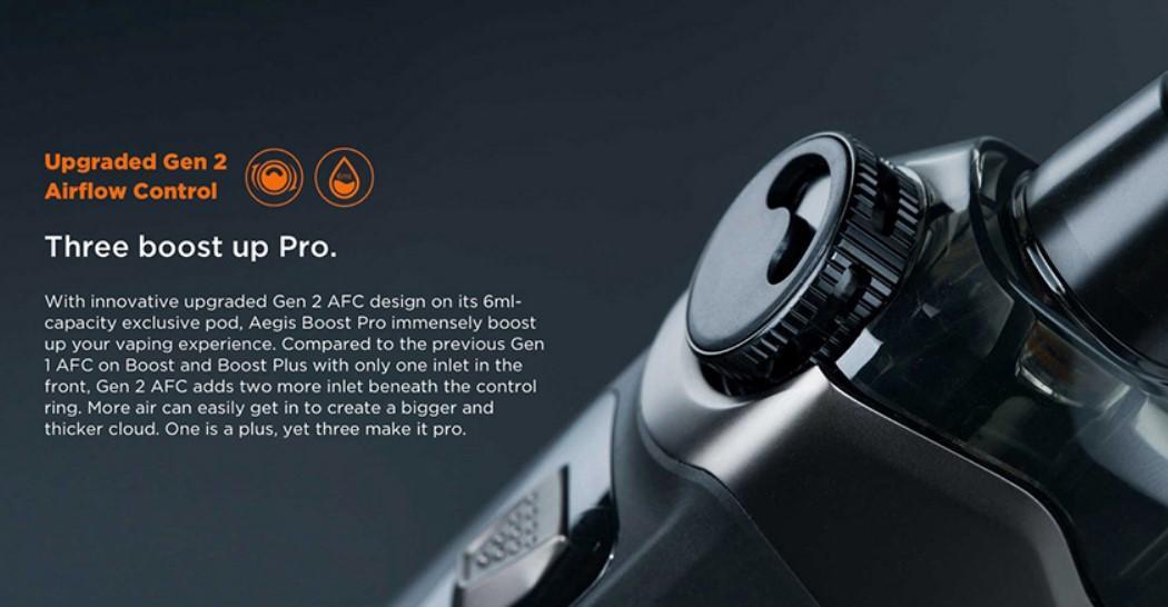 Flujo de aire del Geekvape Aegis Boost Pro: